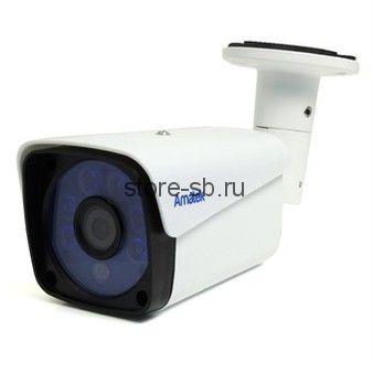 AC-HS202 (3,6) Amatek Уличная цилиндрическая мультиформатная MHD (AHD/ TVI/ CVI/ CVBS) видеокамера, объектив 3.6мм, 2Mp, Ик