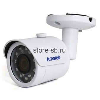 AC-IS202 (2,8) Amatek Уличная цилиндрическая IP видеокамера, обьектив 2.8мм, 3Мп/2Мп, Ик