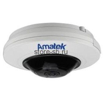 "AC-IF122 Amatek Панорамная IP камера Fisheye ""Рыбий глаз"", ИК , 12Мп, POE, Слот для microSD"