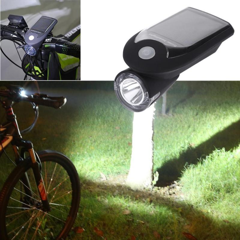 Велосипедная Фара С Солнечной Батареей Solar Usb Bicycle Light FY-307