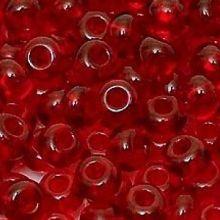 Бисер чешский 90070 красный прозрачный Preciosa 1 сорт