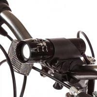 Передний яркий велофонарь с креплением на руль и зумом (1)