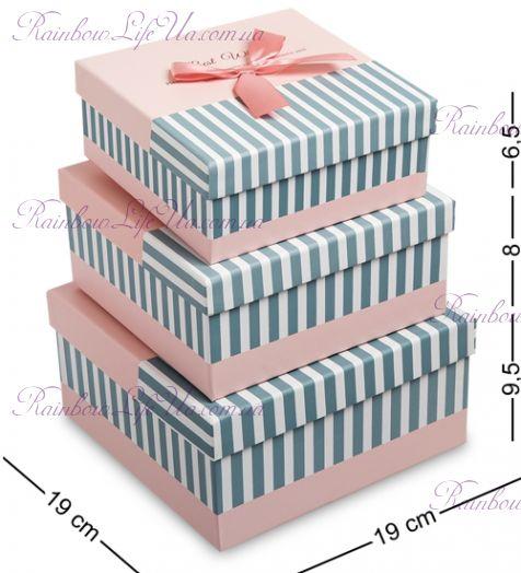 "Набор подарочных коробок 3 шт ""Wishes"""