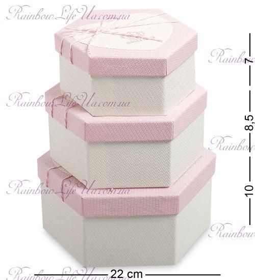 "Набор подарочных коробок 3 шт ""Sweet Love"""