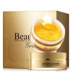 Гидрогелевые патчи Create Firm Eye Beauty Golden с золотом и коллагеном Big Size