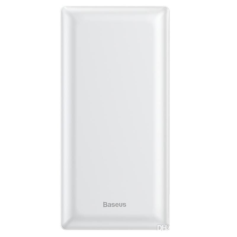 Внешний аккумулятор Baseus Mini JA Fast charge power bank 3A 30000mAh (PPJAN-C01 , PPJAN-C02) White