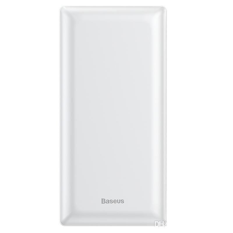 Внешний аккумулятор Baseus Mini JA Fast charge power bank 3A 30000mAh (PPJAN-C01 , PPJAN-C02) White