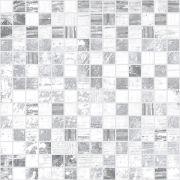 Extra Мозаика серый+белый 30х30