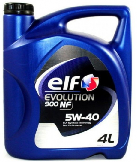 Масло моторное ELF Evolution 900 NF 5W40 4л
