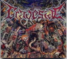 """GRAVESIDE  """"Sinful Accession"""" 2019"""