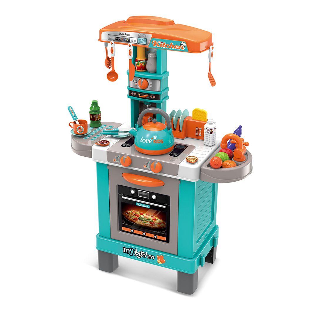 """008-939A Игровой модуль детская кухня """"Little Chef"""" свет, звук, пар, 86 см"""