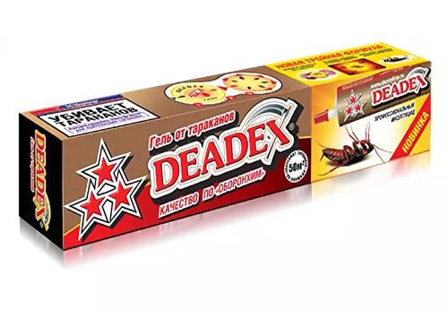 Гель от тараканов DEADEX тройная формула  30г