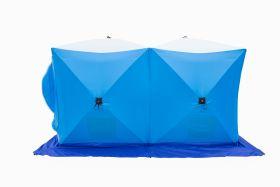 Палатка для рыбалки Стэк Куб-2 Дубль трехслойная дышащая