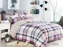 Постельное белье Сатин SL 2-спальный Арт.20/418-SL