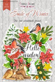 """Набор высечек от FD """"Smile of winter"""""""
