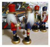 Щелкунчик - набор деревянных ёлочных игрушек 4 шт IR-50