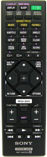 Пульт для музыкального центра Sony RMT-AM120U