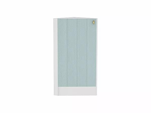 Шкаф нижний торцевой Прованс НТ300 (голубой)