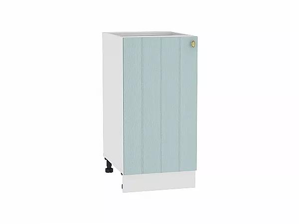Шкаф нижний Прованс Н400 (голубой)