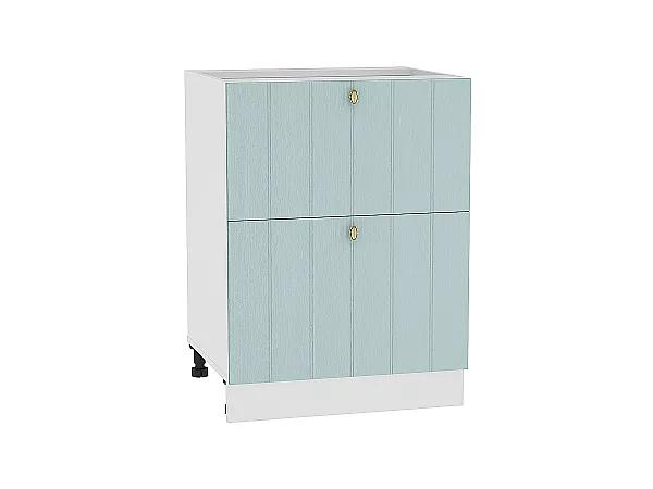 Шкаф нижний Прованс Н602 (голубой)