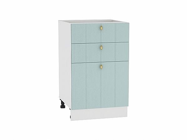Шкаф нижний Прованс Н503 (голубой)