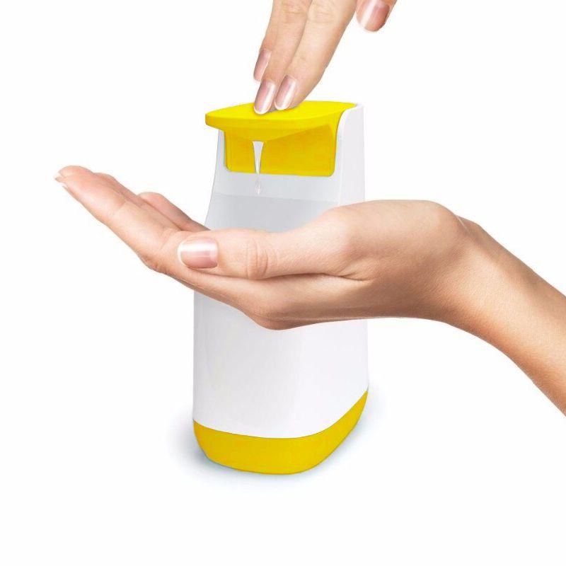 Диспенсер для жидкого мыла Compact Soap Pump, 350 мл, цвет желтый