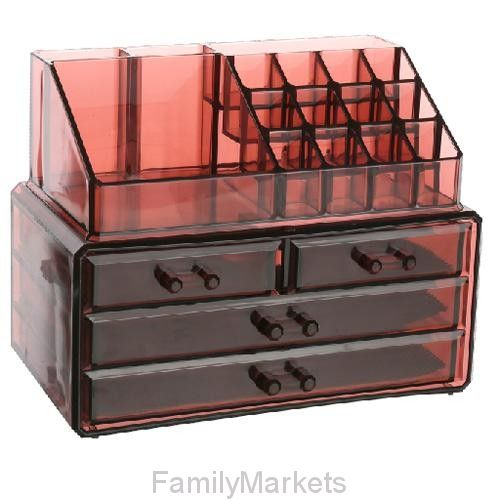 Акриловый органайзер для косметики Multi-Functional Storage Box QFY-3112