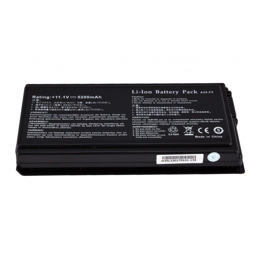 Аккумулятор Asus X50VL/... (A32-F5/A32-X50/...) (11,1V/5200 mAh) Оригинал