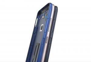 Задняя крышка Asus ZB633KL ZenFone Max (M2) (silver) Оригинал
