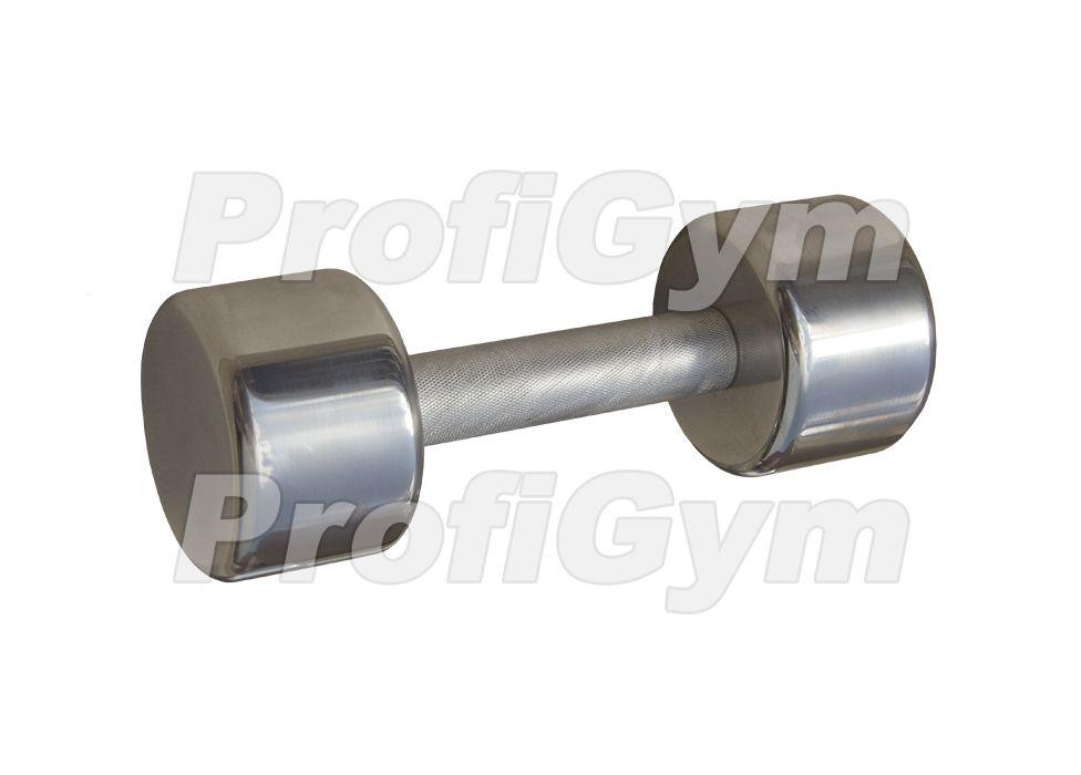 ГНХ-6 Гантель хромированная «PROFIGYM» 6 кг