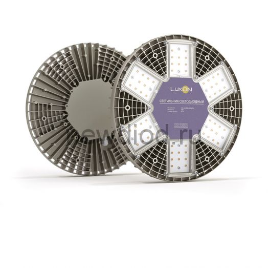 Светодиодный промышленный светильник повышенной мощности LuxON WebStar 95W, 5000К, 12520Лм, 220VAC,IP65 (ИП внешний)