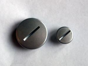 Заглушка крышки генератора DELTA, ALPHA (2 шт)