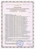 приложение к Сертификат на аппликатор Ляпко Ромашка