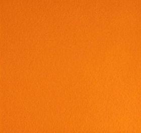 фетр ТЫКВЕННЫЙ/ ЯРКО-ОРАНЖЕВЫЙ  ТМ РУКОДЕЛИЕ размер 21*29,7 см ТОЛЩИНА НА ВЫБОР  плотность 180 мягкий