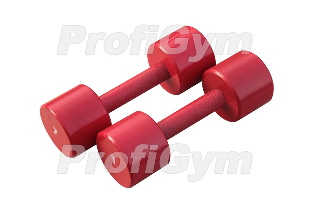 ГНП-7 Гантель «ProfiGym» неразборная с полимерным покрытием, 7 кг
