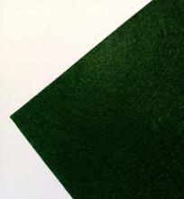 фетр ТЕМНО-ЗЕЛЕНЫЙ Китай размер 20*30 см толщина 1 мм жесткий