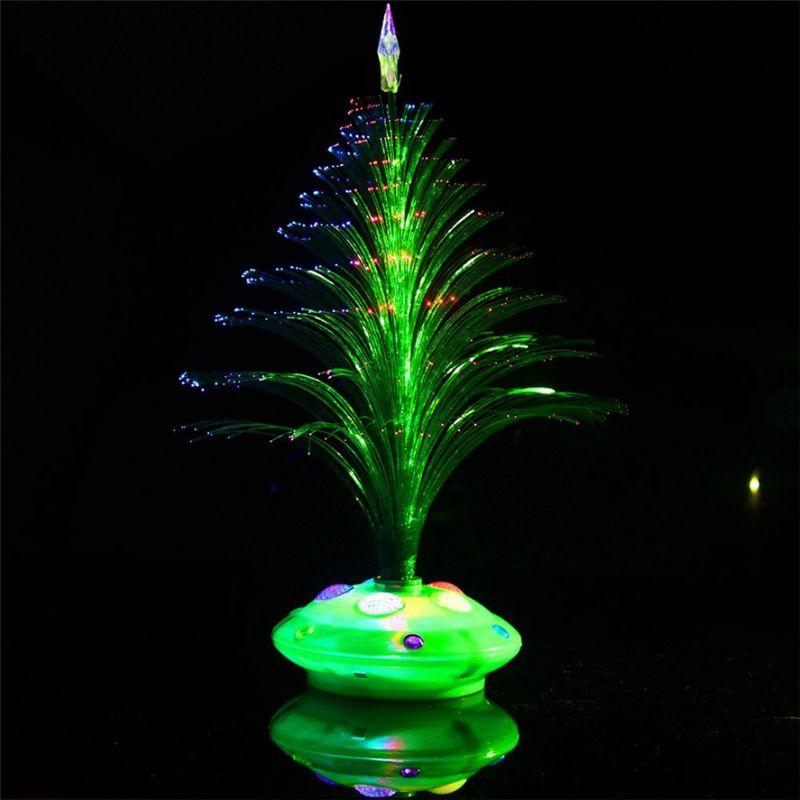 Светящаяся LED елочка, 32 см, цвет зеленый