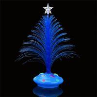 Светящаяся LED елочка, 32 см, цвет синий (4)