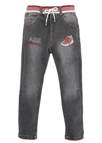 Джинсовые брюки для мальчиков 3-7 лет Bonito Jeans черные