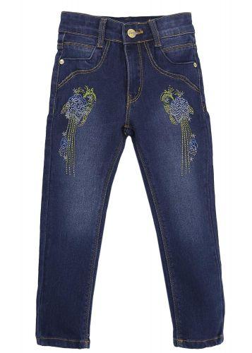 Джинсовые брюки для девочек 6-9 лет Bonito Jeans