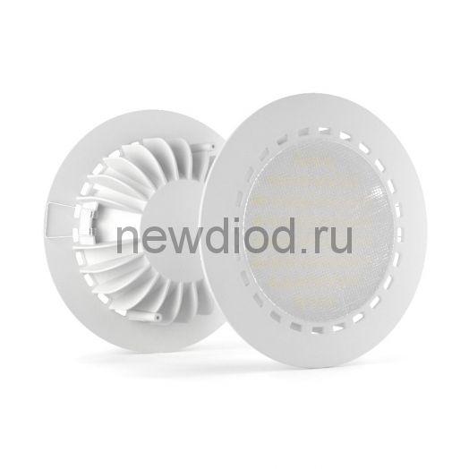 Встраиваемый светодиодный светильник LuxON Round 33W, 5000К, 3130лм, 220VAC, IP20