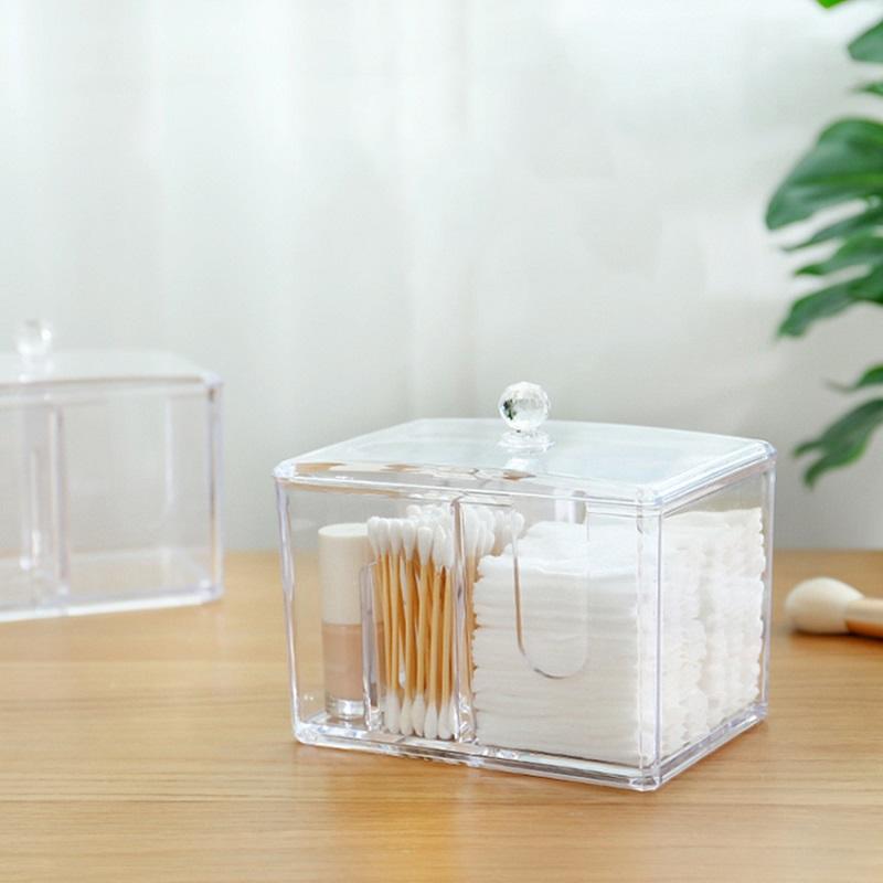 Акриловый Контейнер Для Хранения Мелочей Multi-Functional Storage Box QFY-3125, Цвет Прозрачный