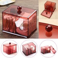 Акриловый контейнер для хранения мелочей Multi-Functional Storage Box QFY-3125, цвет бордовый (3)