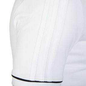 Футболка-поло adidas Tiro 17 Cotton Polo белая