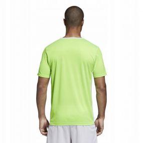 Игровая футболка adidas Entrada 18 ярко-зелёная