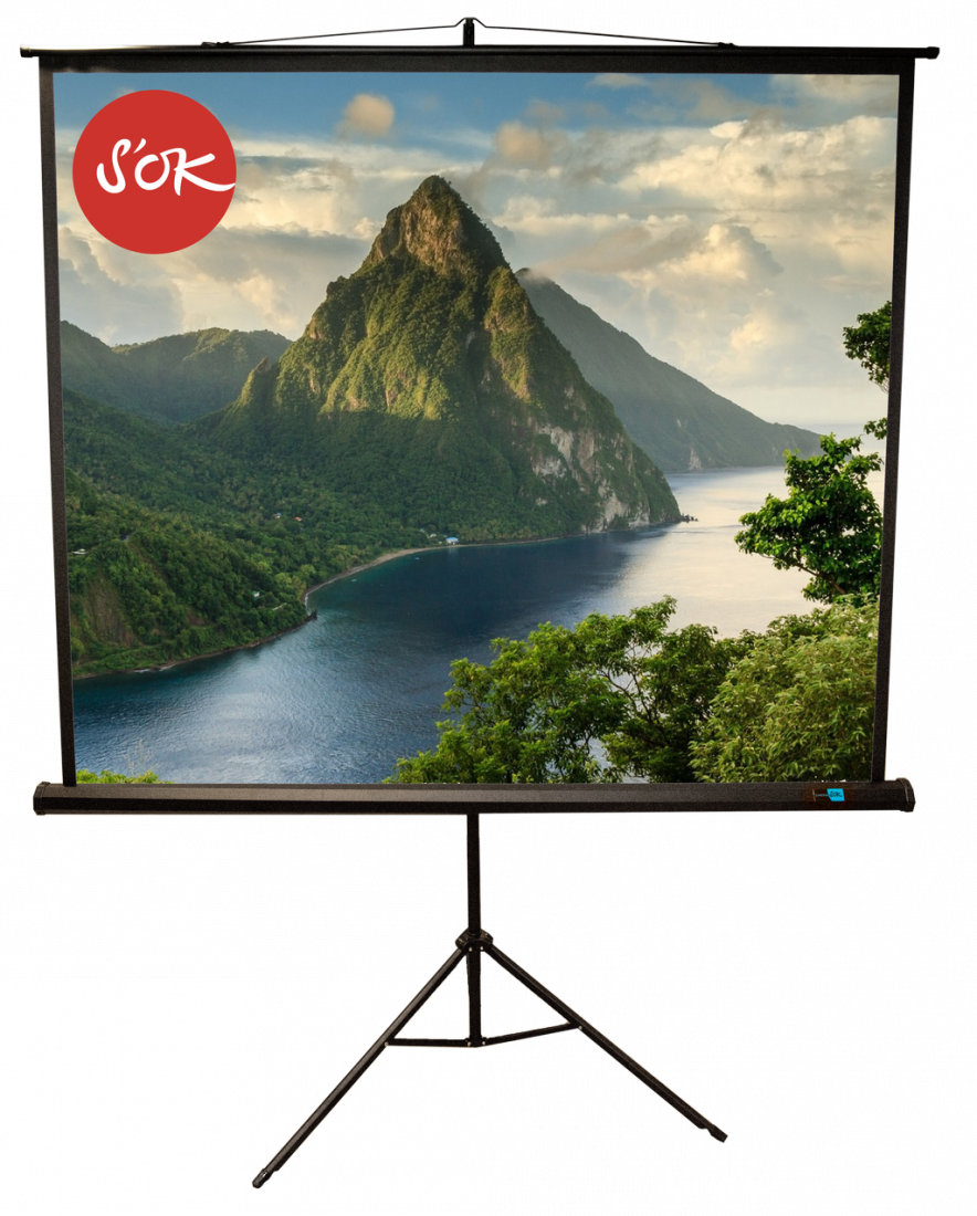 Экран S'OK SCPST-150x150BLCK