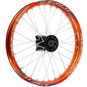 Диск колеса передний спицы алюминевый 17х1.6 d=15