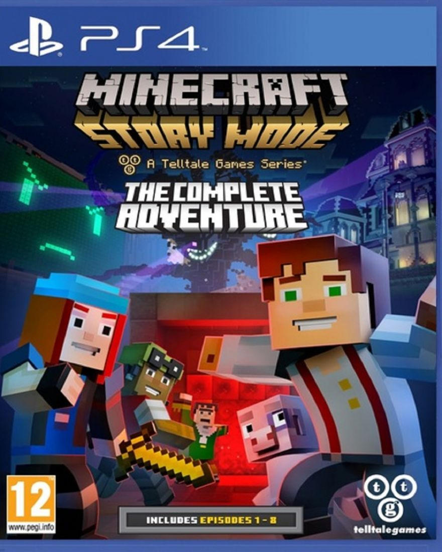 Minecraft:Story Mode Complete Adventure ps4