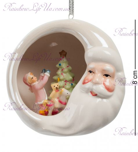 "Фигурка подвесная Дед Мороз ""Pavone"""