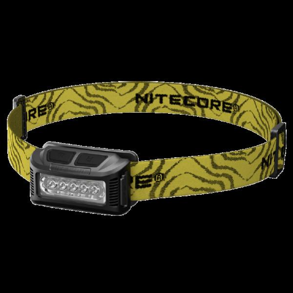 Светодиодный налобный фонарь Nitecore NU10 Черный